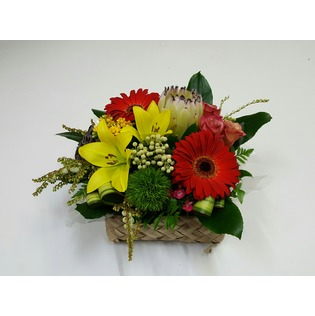 Kamo Florist - Pacific Basket Arrangement